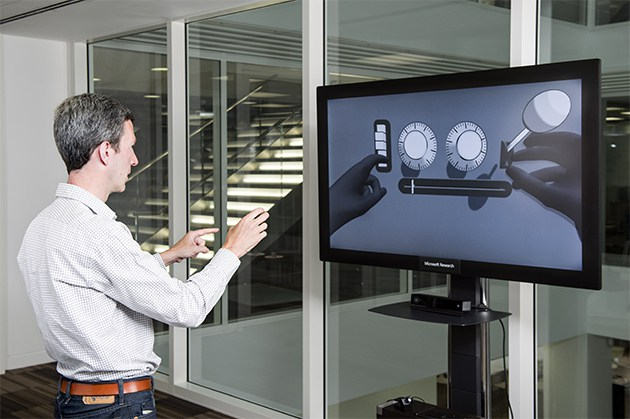 Microsoft Gesture research , Jamie Shotton and team at the Microsoft Centre, 21 Station Road, Cambridge. CB1 2FB  13 June 2016