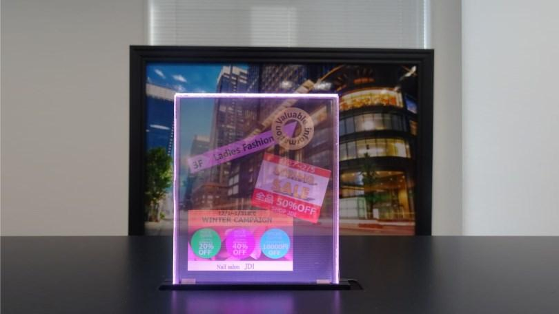 jdi-transparent-display