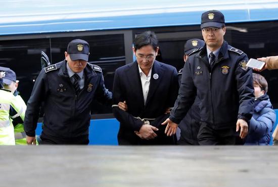 samsung-lee-arrested-picture